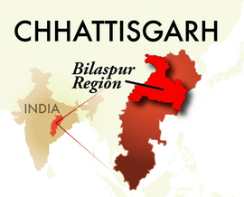The Bilaspur Chhattisgarh Region