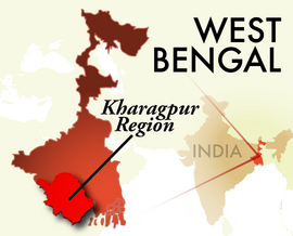 The Kharagpur West Bengal Region