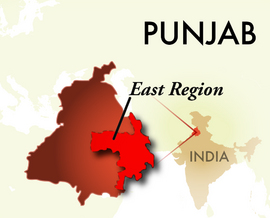 The East Punjab Region