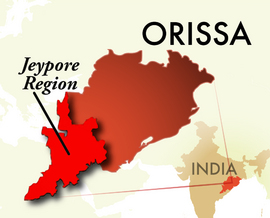The Jeypore Orissa Region