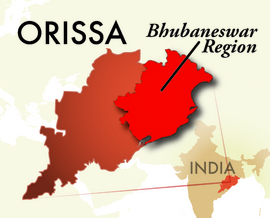 The Bhubaneswar Orissa Region